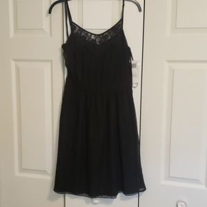 French Connection NWT black mini dress